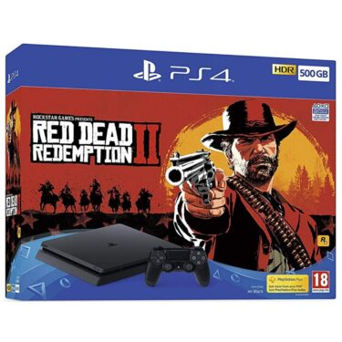 Playstation 4 500Gb con Red Dead Redemption 2